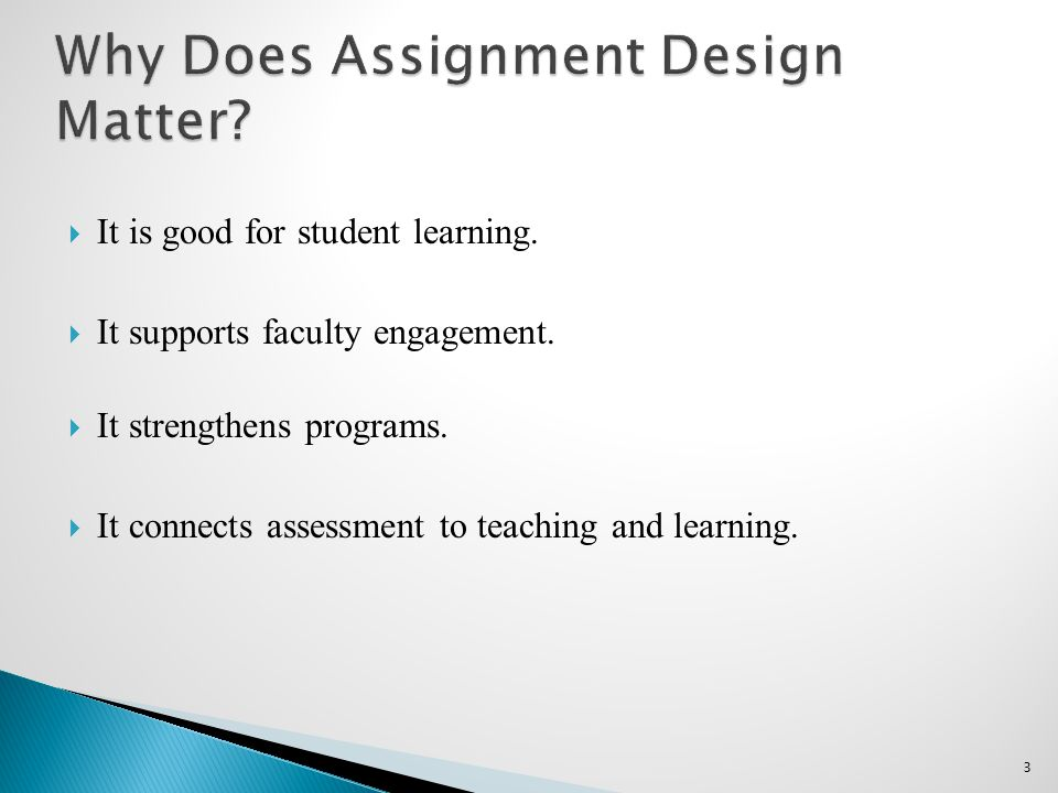  It is good for student learning.  It supports faculty engagement.