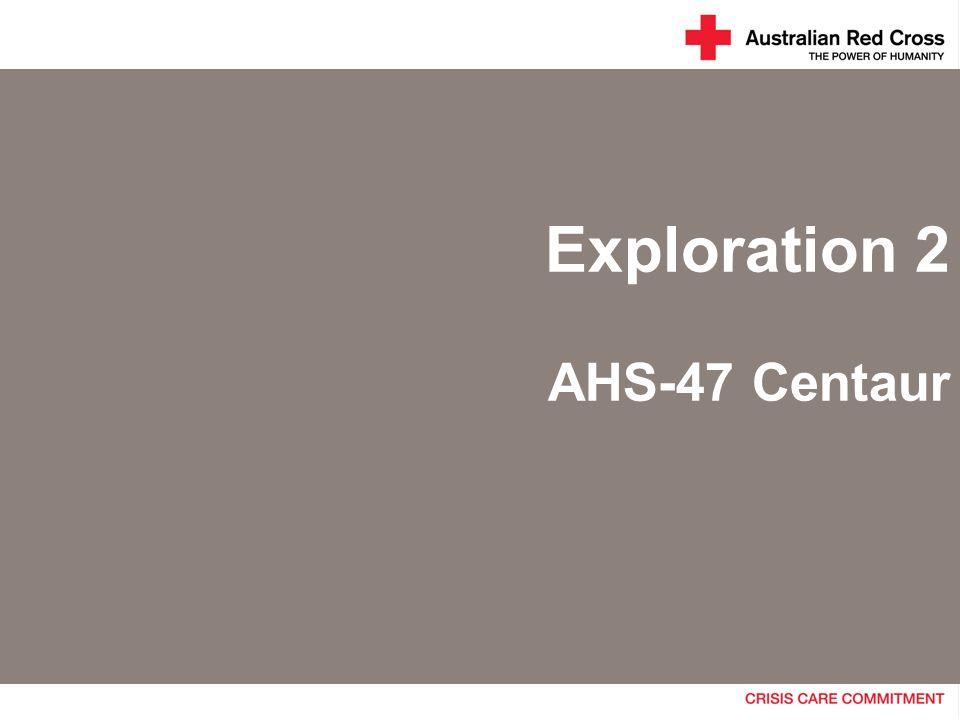 Exploration 2 AHS-47 Centaur