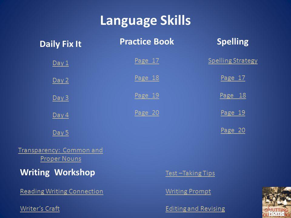 Language Skills