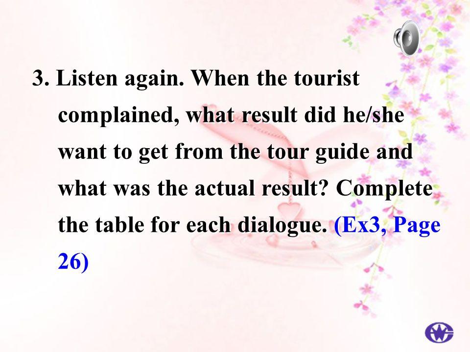 3. Listen again.