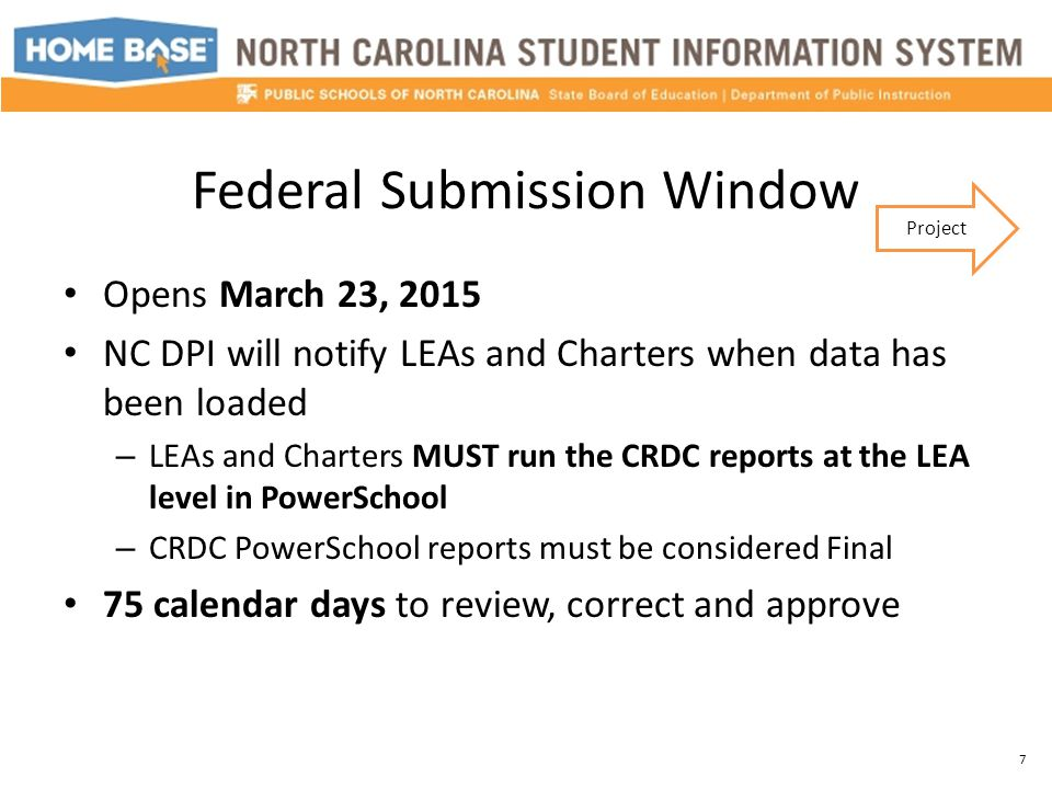 Resources Federal Site: CRDC LEA and School level forms http://www2.ed.gov/about/offices/list/ocr/data.html NC Public Schools Site: Communications Archive Contact List Webinar Sessions http://dpi.state.nc.us/data/management/ocr/ NC-SIS: Webinar Recordings User Guide http://www.nc-sis.org 38 Resources