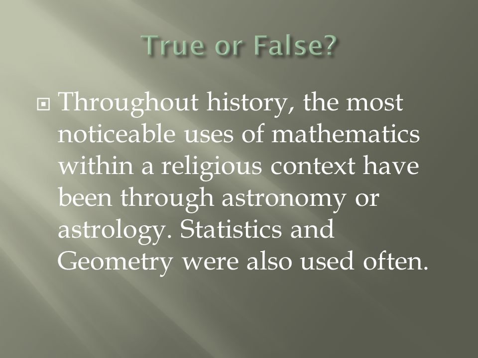  A book that explores the nature, historical development and cultural impact of mathematics from a Christian perspective.