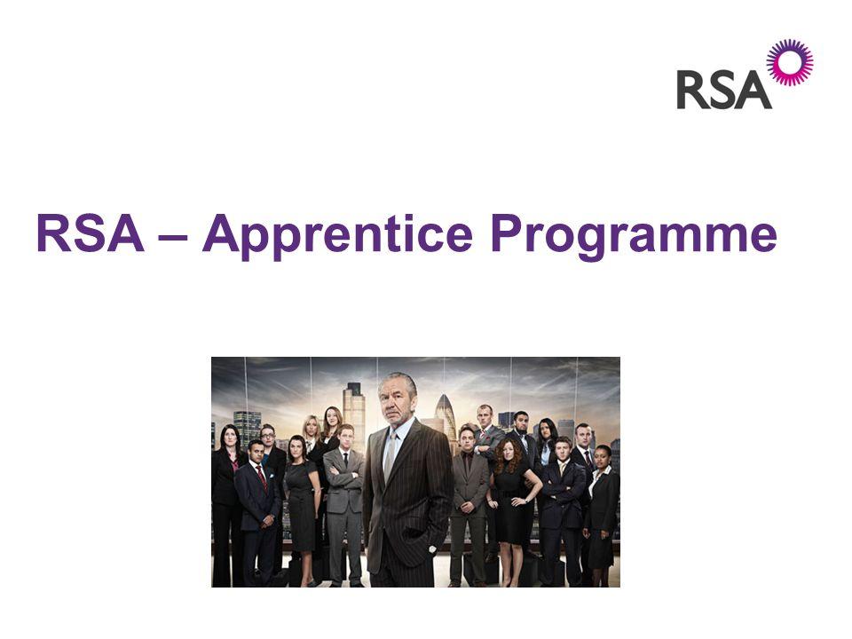 RSA – Apprentice Programme