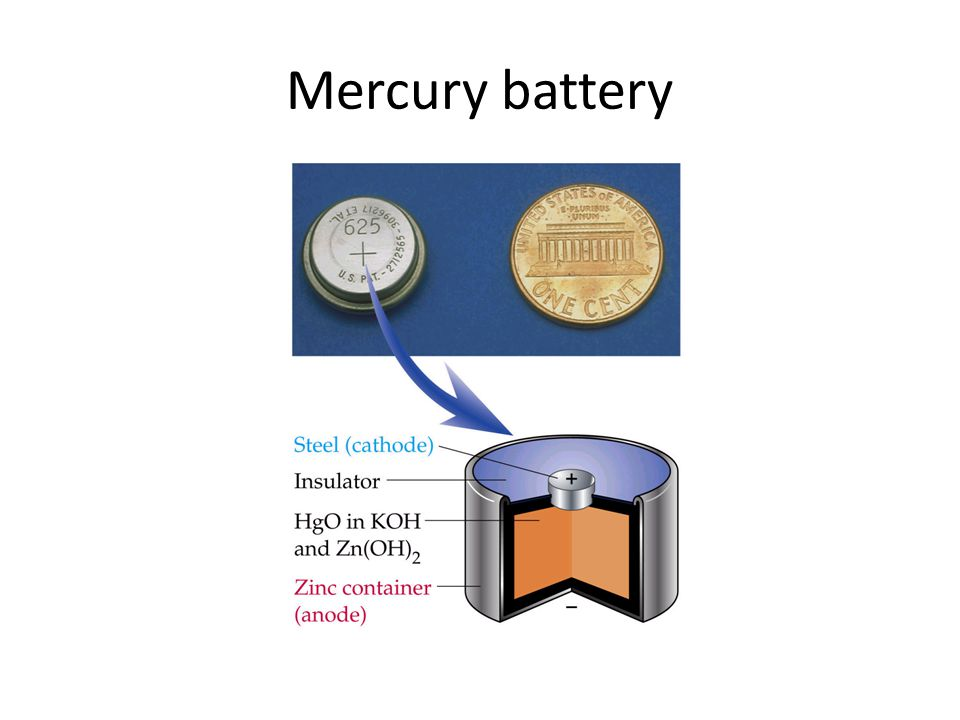 Mercury battery