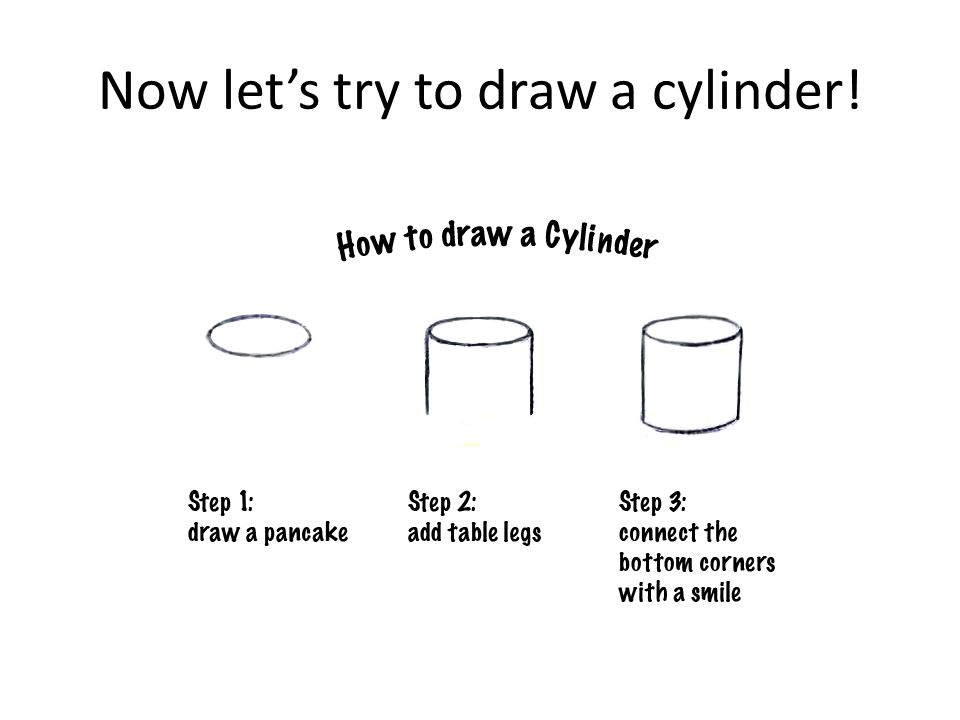Now let's try to draw a cylinder!