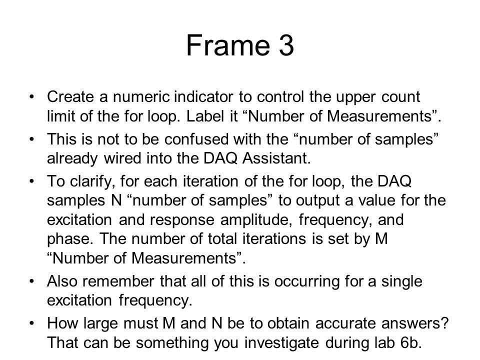 Create a numeric indicator to control the upper count limit of the for loop.