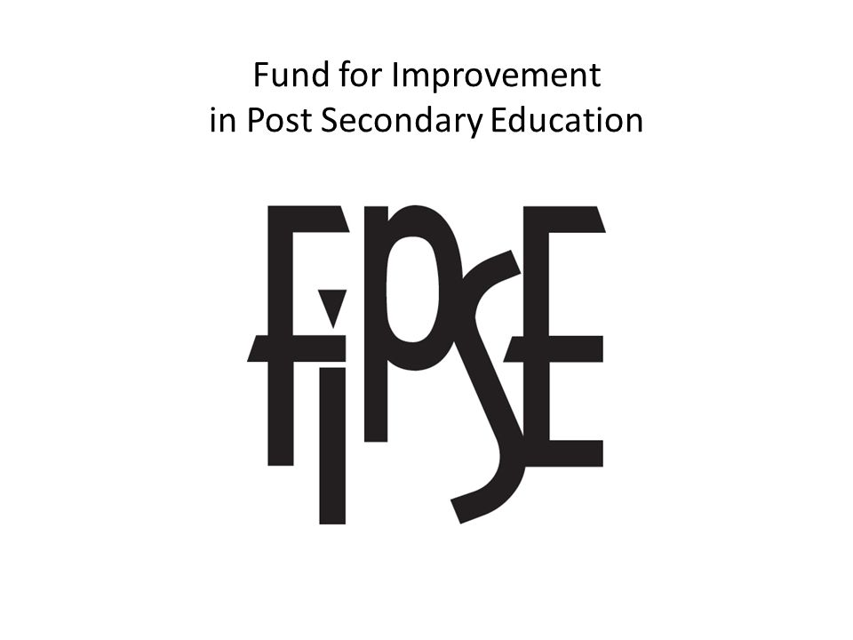 Fund for Improvement in Post Secondary Education