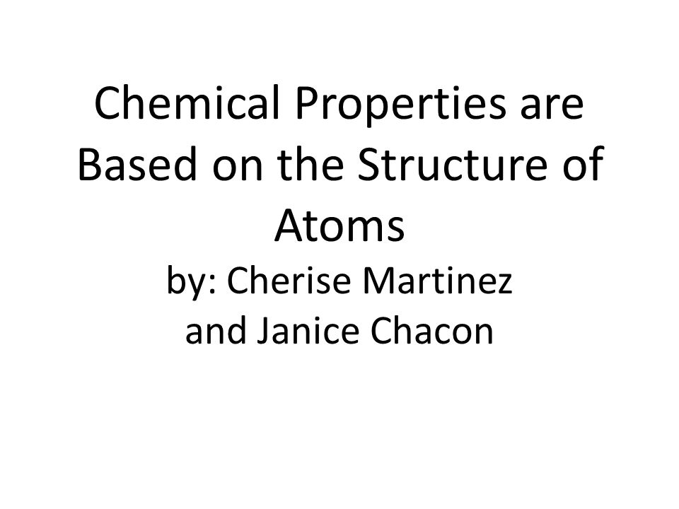 Atoms Each element consists of a single kind of atom that is different from the atoms of all other elements.