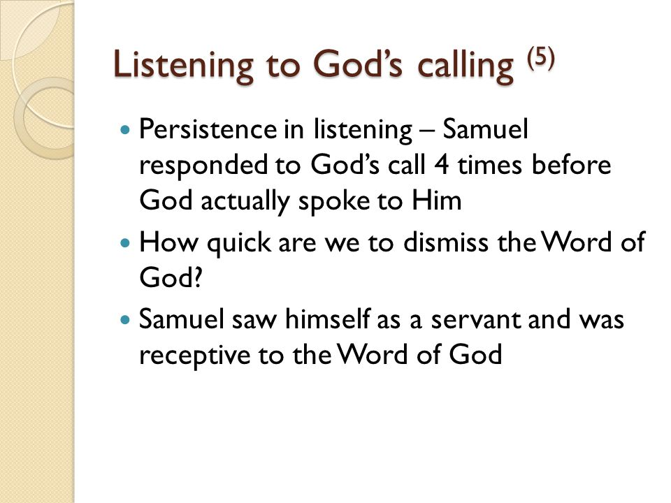 Speaking the unpleasant truth (1) 1 Samuel 3:12-14 In that day I will perform against Eli all that I have spoken concerning his house, from beginning to end.