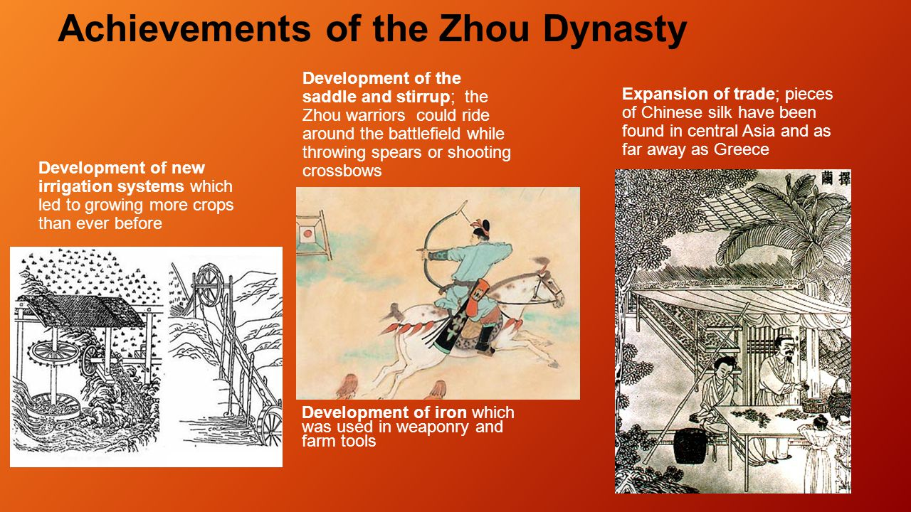 The Mandate of Heaven changed what the Zhou people expected from their king: THE KING MUST RULE BY THE PROPER WAY (DAO). HIS DUTY WAS TO HONOR AND PLE