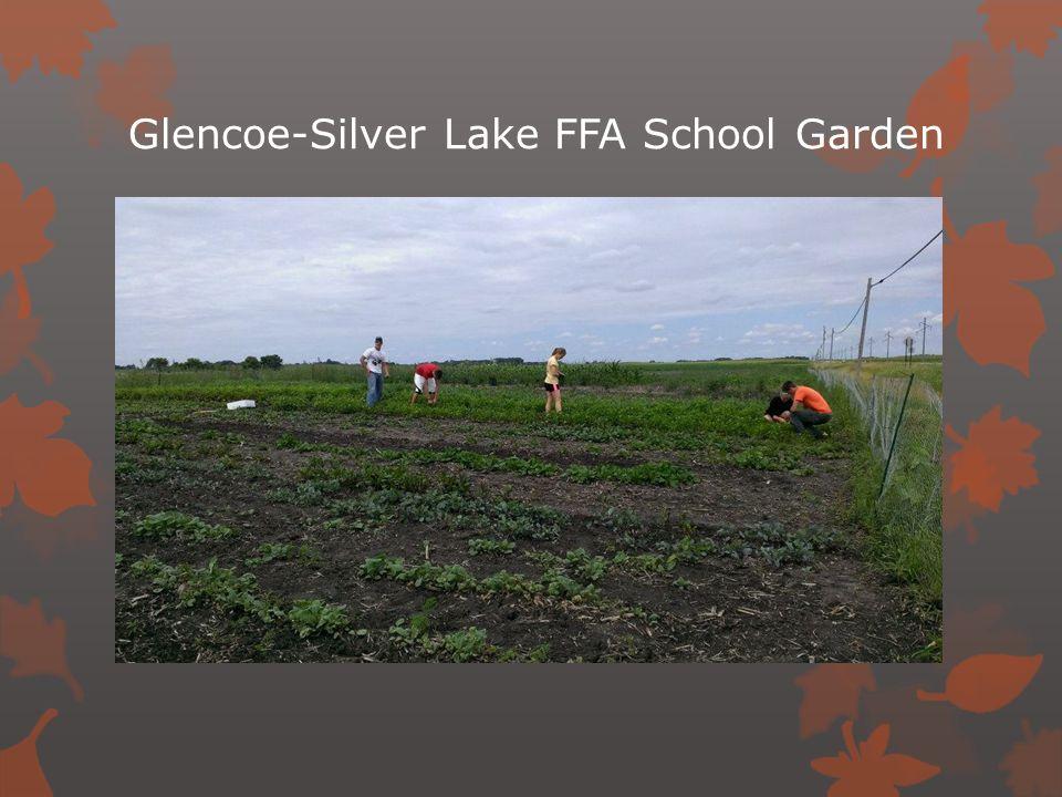 Glencoe-Silver Lake FFA School Garden