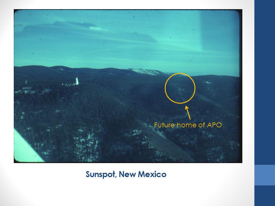 Sunspot, New Mexico Future home of APO
