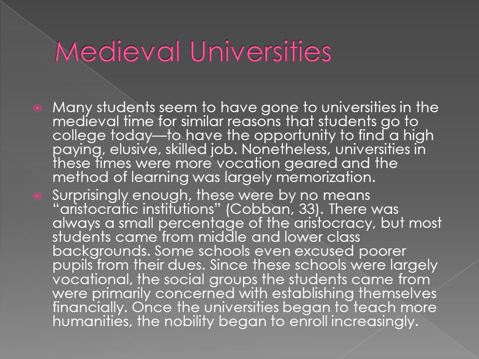 Revolts during this time are not unheard of, although it is often difficult to determine the numbers involved and whether faculty also took part.