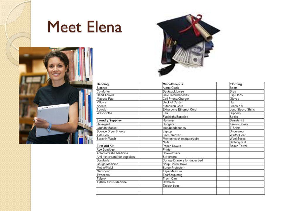 Meet Elena