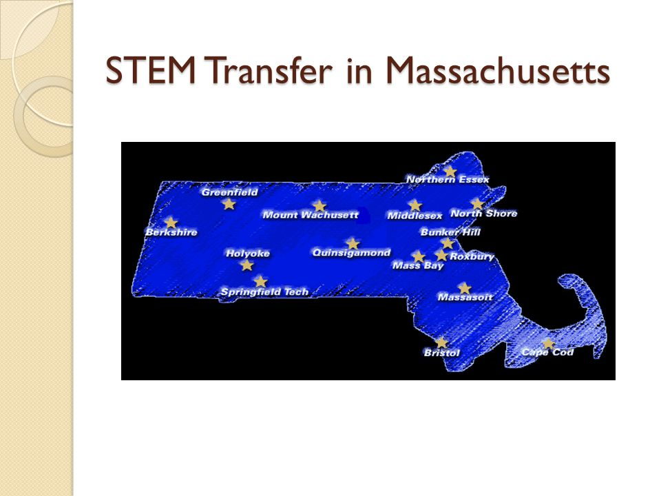 STEM Transfer in Massachusetts