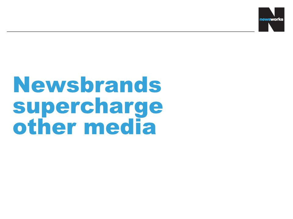 Newsbrands supercharge other media