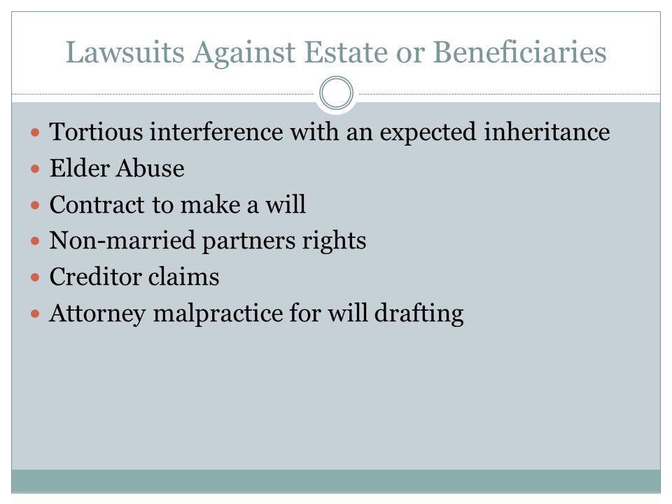 Attorney Malpractice For Will Drafting What is legal malpractice.