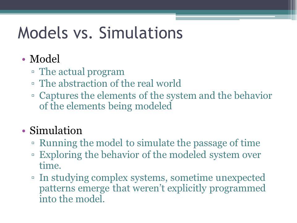 Models vs.