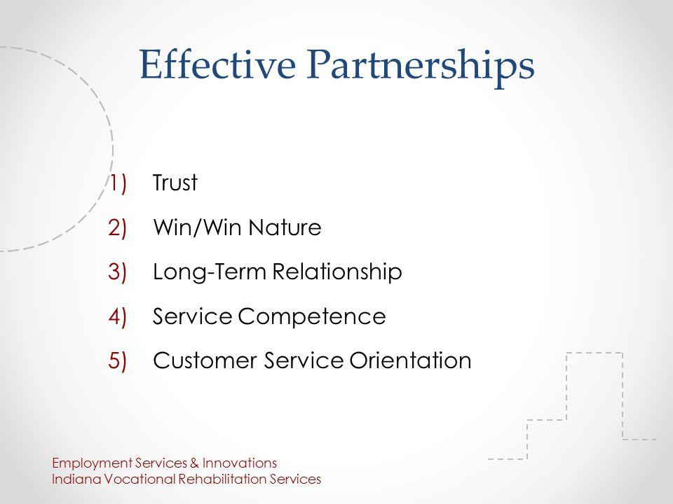 Employment Services & Innovations Indiana Vocational Rehabilitation Services False.