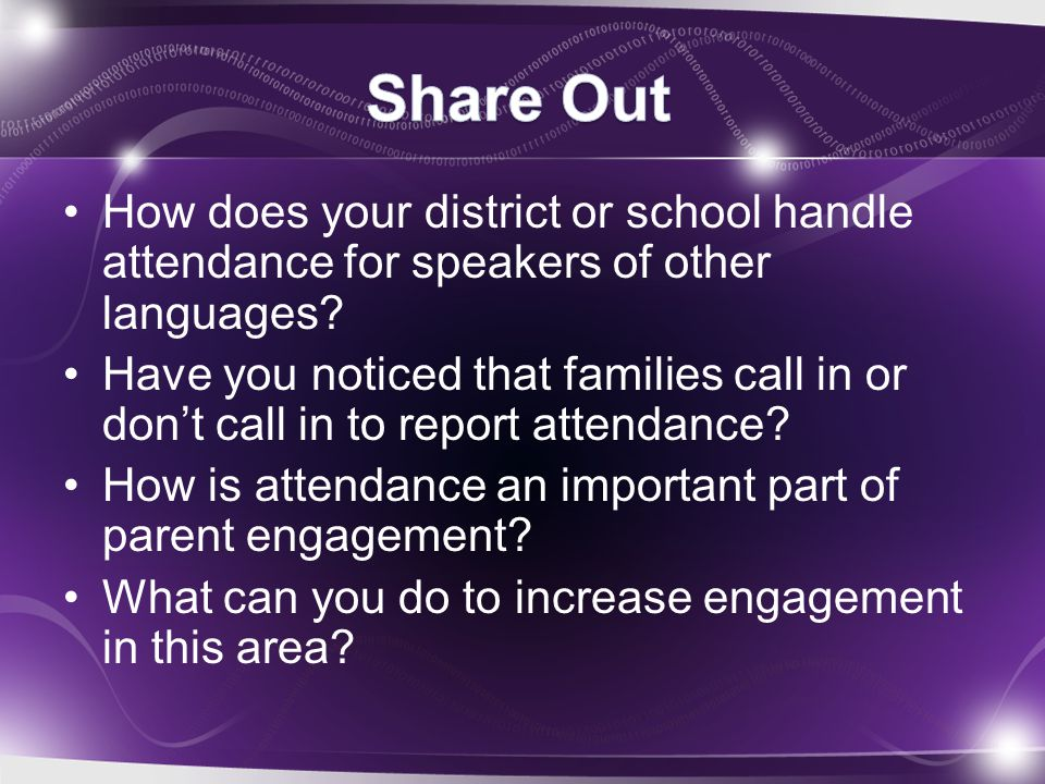 The use of conference calls has increased school- home connection New practice that's being done to contact families More efficient than scheduling meetings for smaller issues, concerns, or questions Message is more accurately relayed Parents talk directly to school staff, which further improves school-home connections Parents have a chance to ask questions directly
