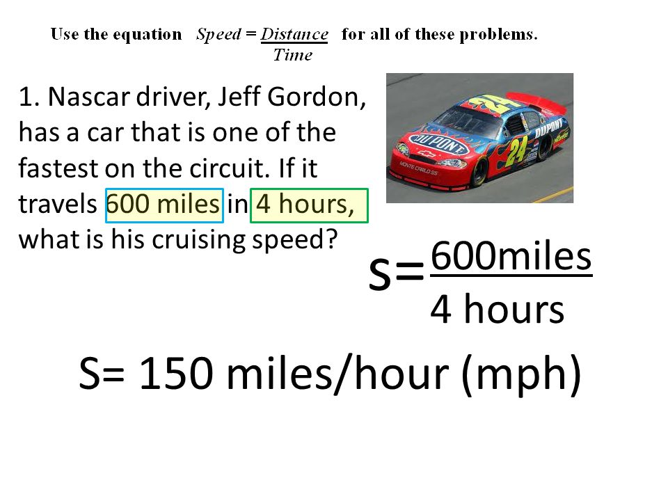 1. Nascar driver, Jeff Gordon, has a car that is one of the fastest on the circuit.