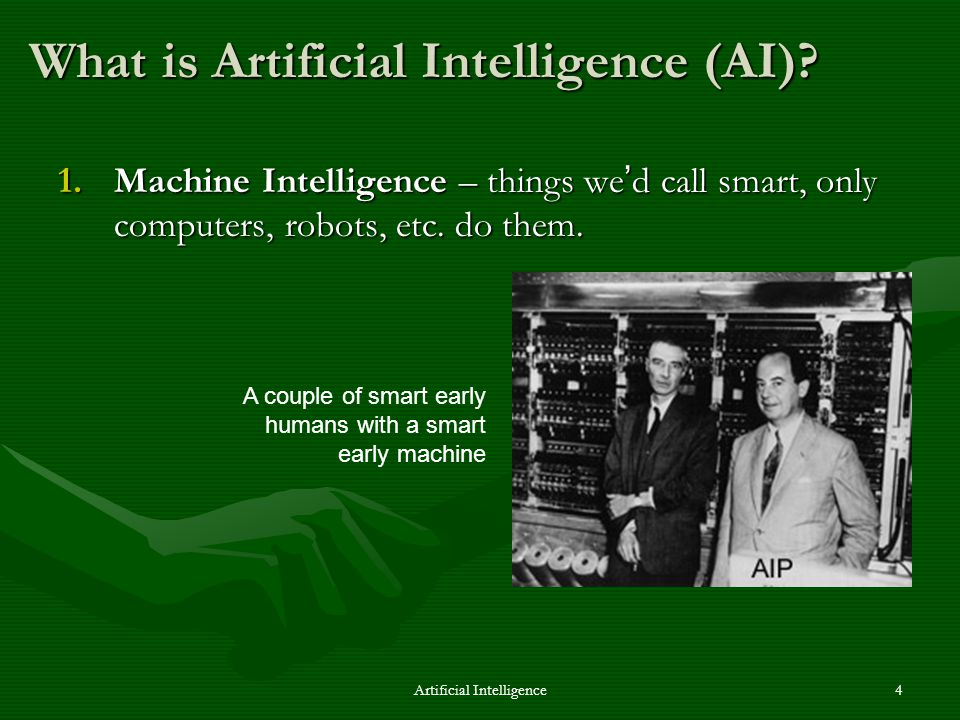 Artificial Intelligence15 One solution to this problem – There are other possible ways.There are other possible ways.