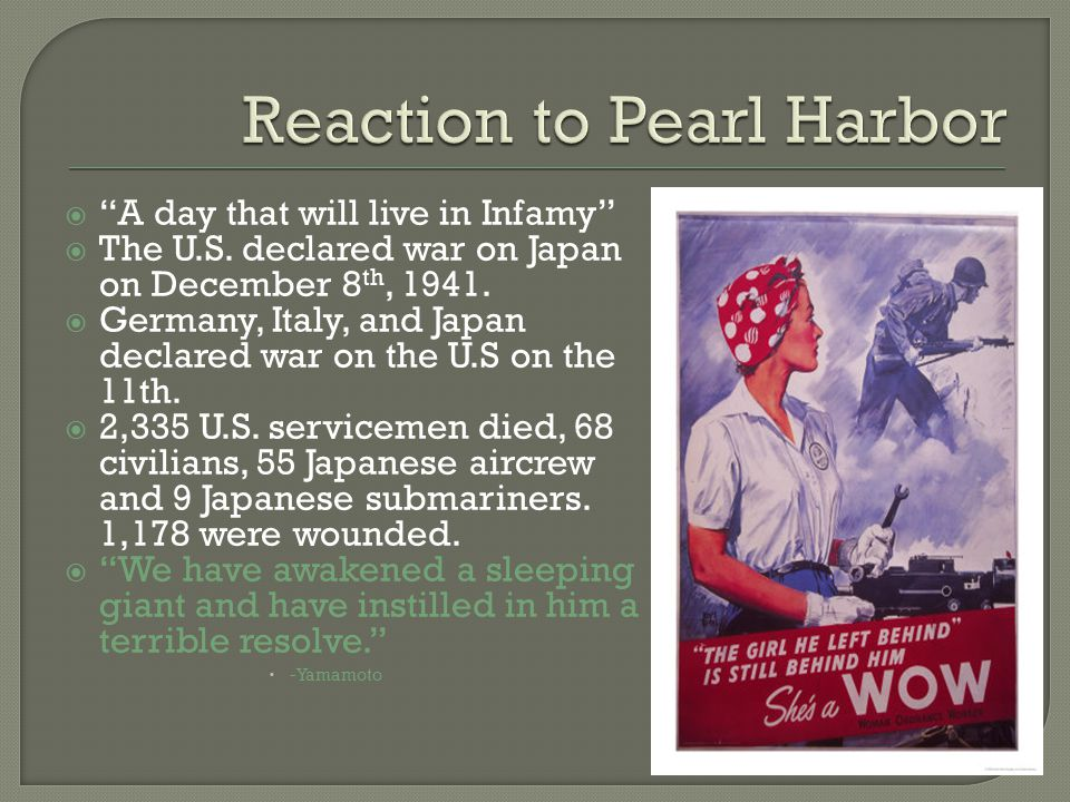  Rationing  Women in the workplace Rosie the riveter  Entertainment to highlight war Many war themed movies/actors in war Baseball went on Music ( Boogie Woogie Bugle Boy )  War Gardens  Propaganda Cartoons and posters ( Der Fuhrer's Face )