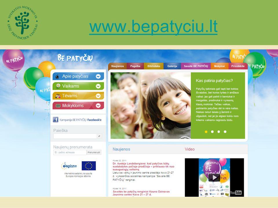 www.bepatyciu.lt