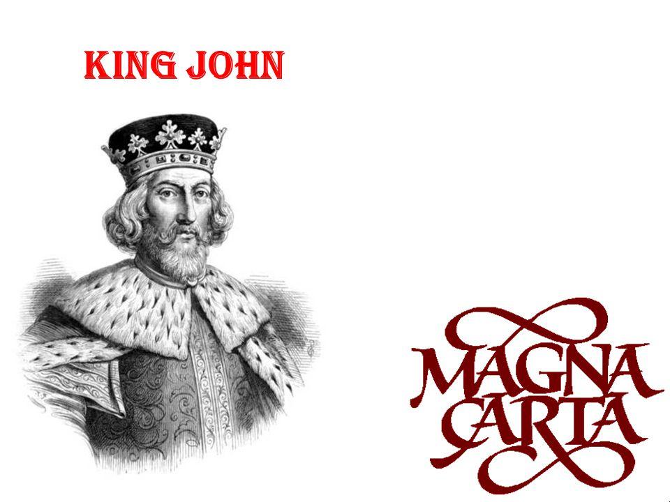 The barons made King John sign the Charter of Liberties (or Magna Carta).