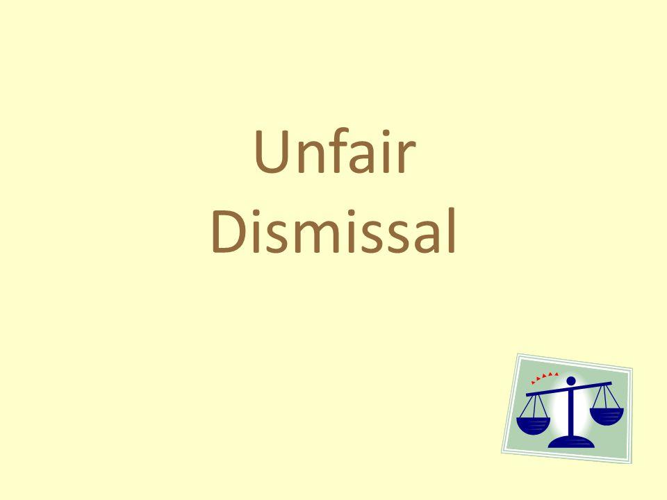 Unfair Dismissal