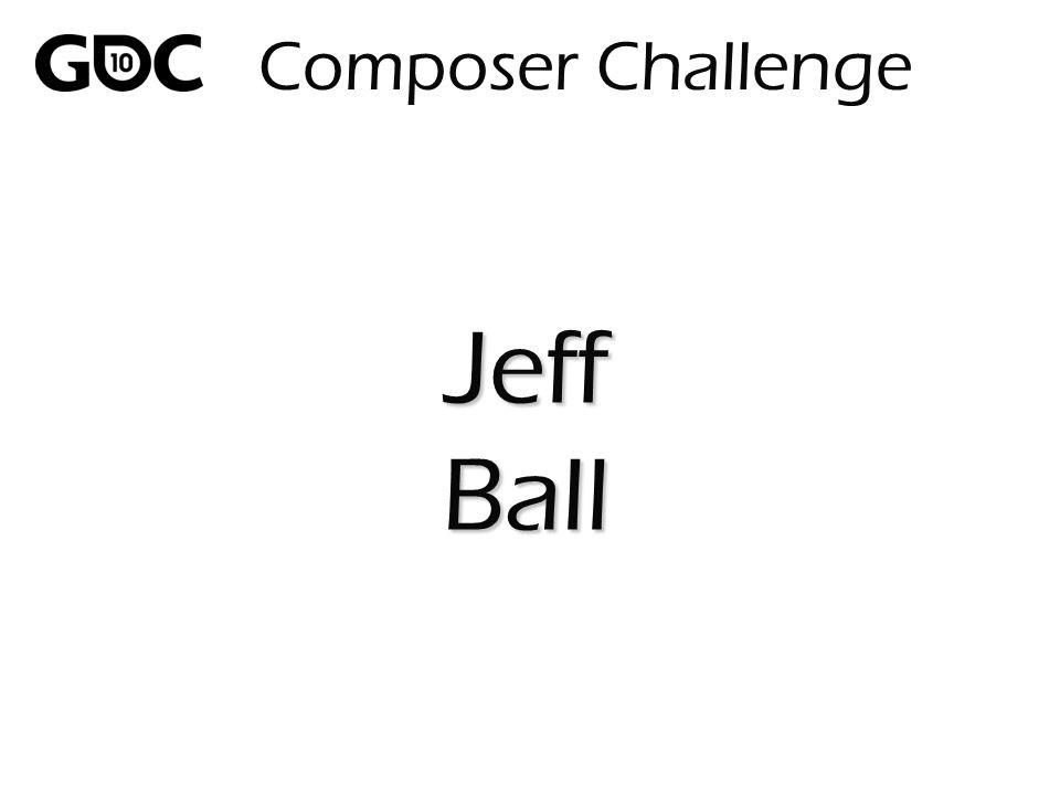 Composer Challenge JeffBall