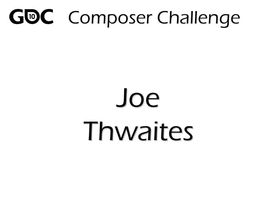 Composer Challenge JoeThwaites