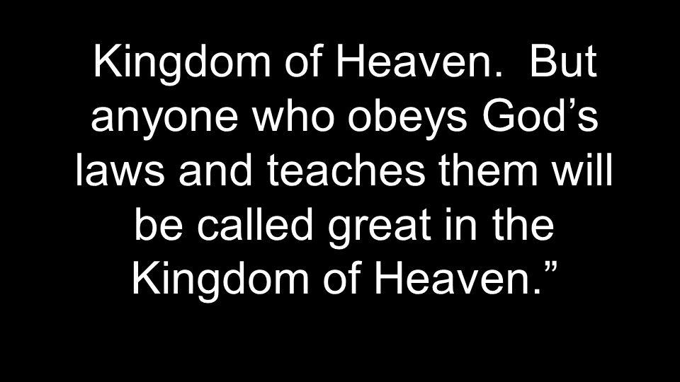 Kingdom of Heaven.