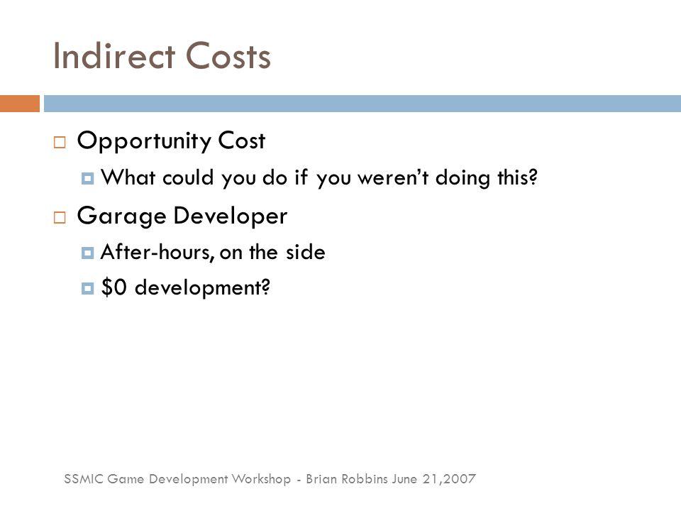 SSMIC Game Development Workshop - Brian Robbins June 21,2007 What Makes a Hit.