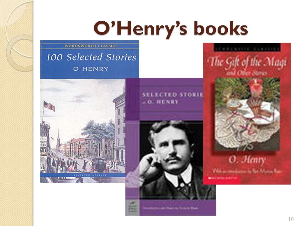 O'Henry's books 10