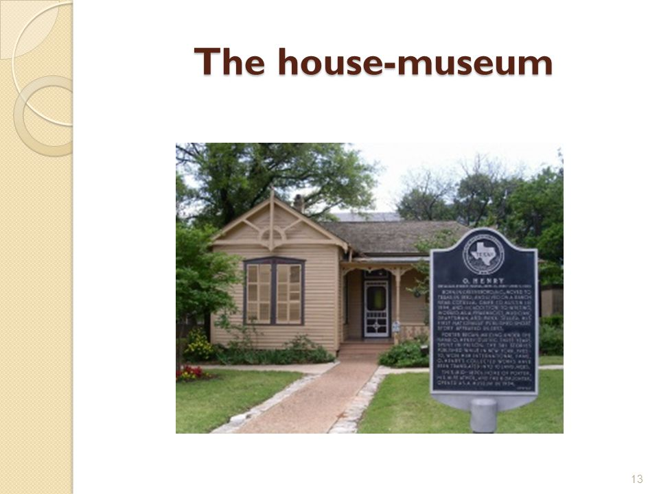 The house-museum 13