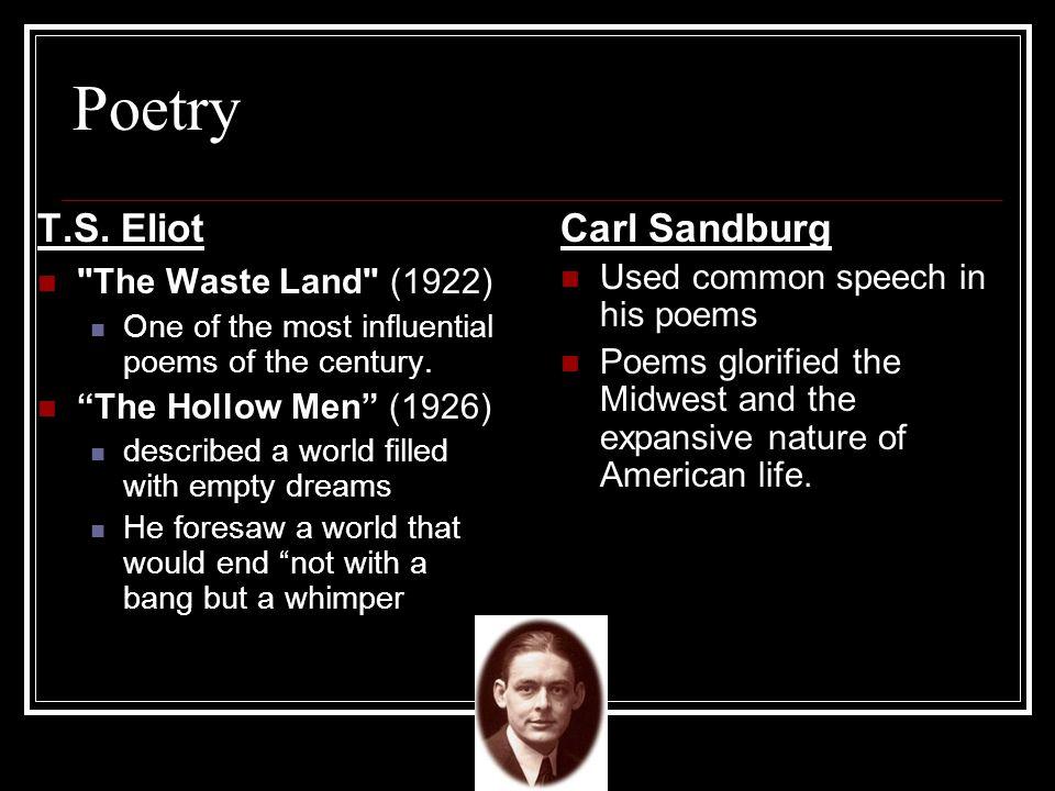 Poetry T.S. Eliot