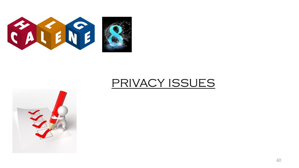 PRIVACY ISSUES 40