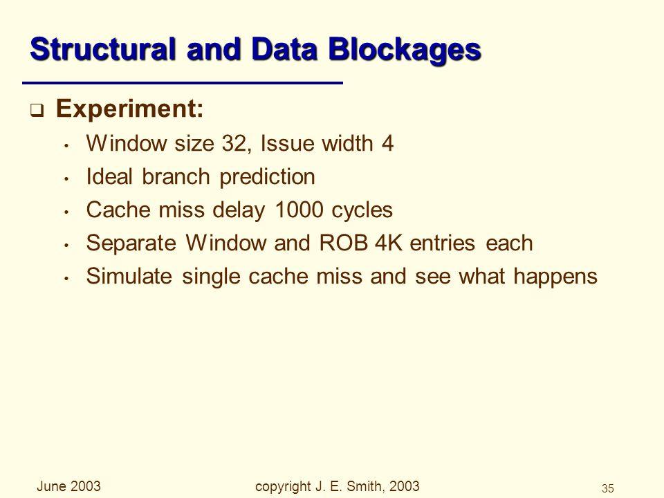 June 2003copyright J. E.
