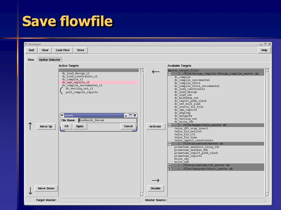 67 Save flowfile