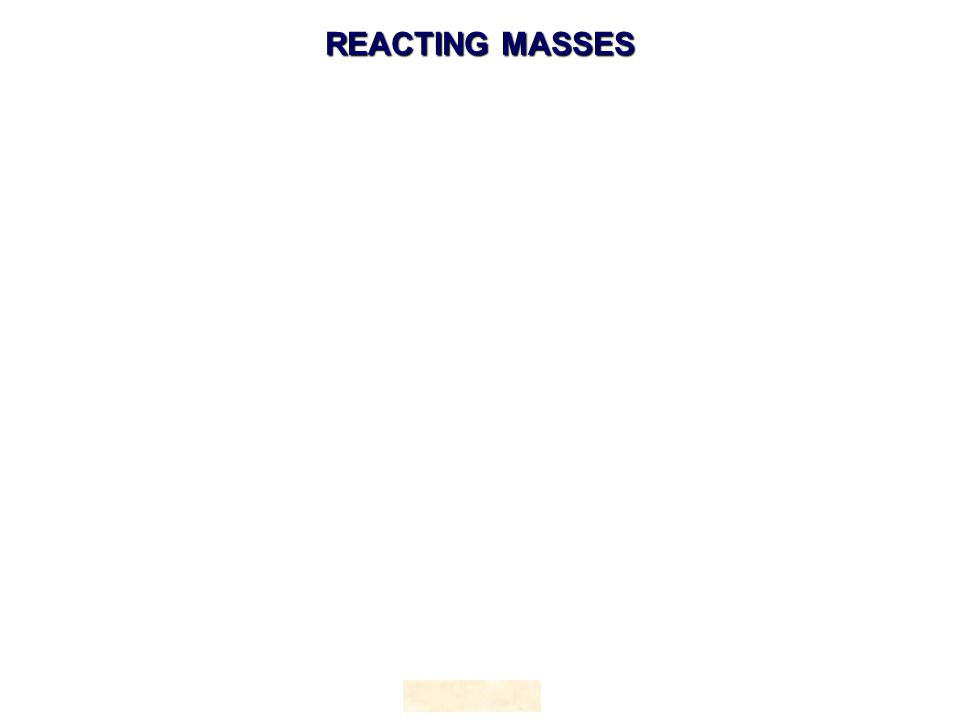 REACTING MASSES HOPTON
