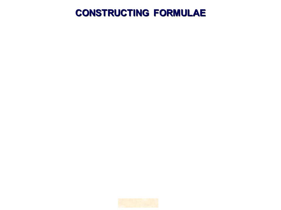 HOPTON CONSTRUCTING FORMULAE