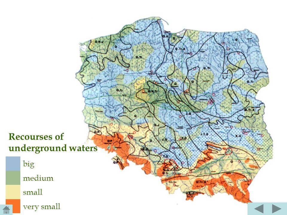Karst waters are the special type of underground waters, filling slits in permeable carbonate rocks( Krakowsko- Częstochowska Highland, Niecka Nidziań