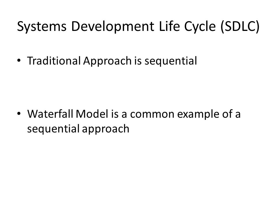Initiation Analysis Investigation Implementation Design Maintenance SDLC - Waterfall Model