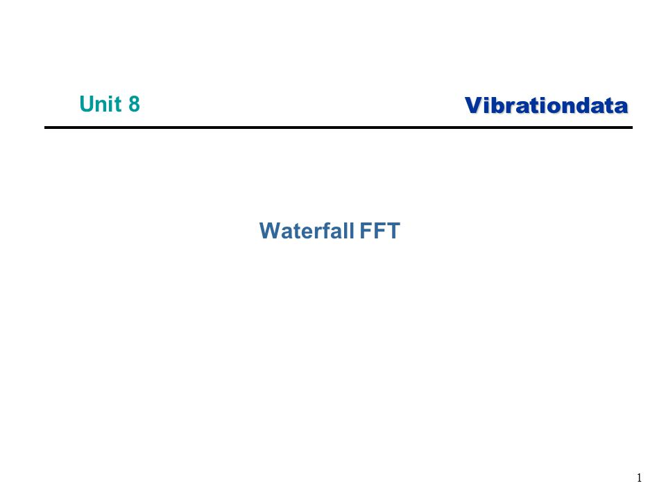 Vibrationdata 1 Unit 8 Waterfall FFT
