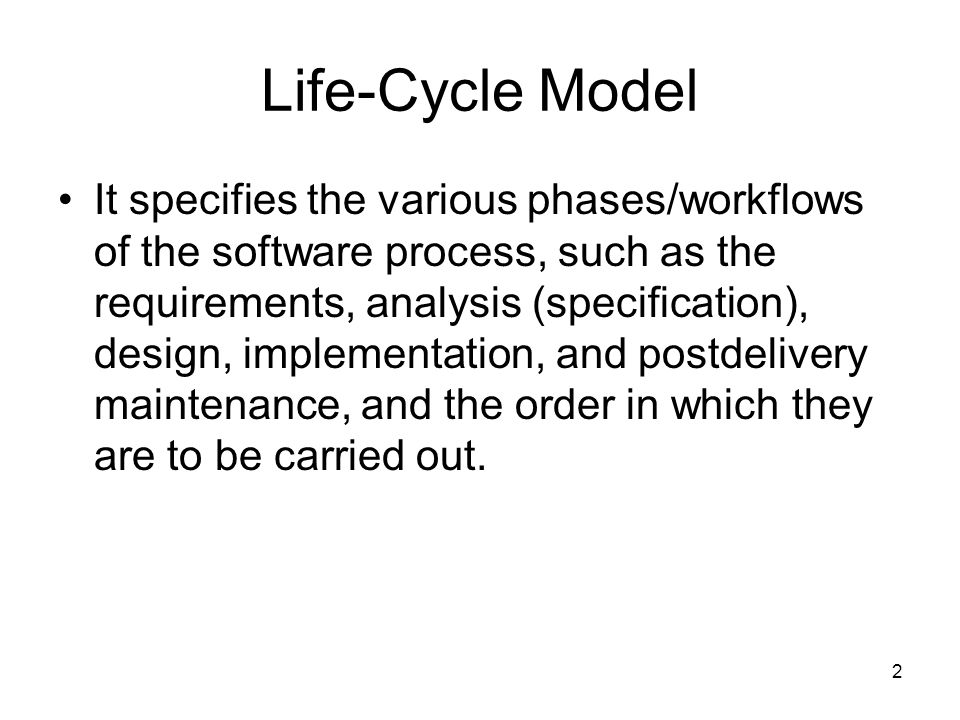 53 Spiral Life-Cycle Model (Cont.) Precede each phase by determining: –Objective of the phase; –Alternatives for achieving the objectives; –Constraints imposed on those alternatives.