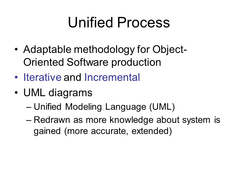 Test Workflow Carried out in parallel with all other workflows Artifacts should be properly numbered, cross- referenced and index for traceability  Requirements: –SQA group review requirements  Analysis : – Representatives of SQA, analysis team and clients walkthrough and inspect artifacts –Obtain additional independent estimates of cost and duration GOAL: Find Faults Early!
