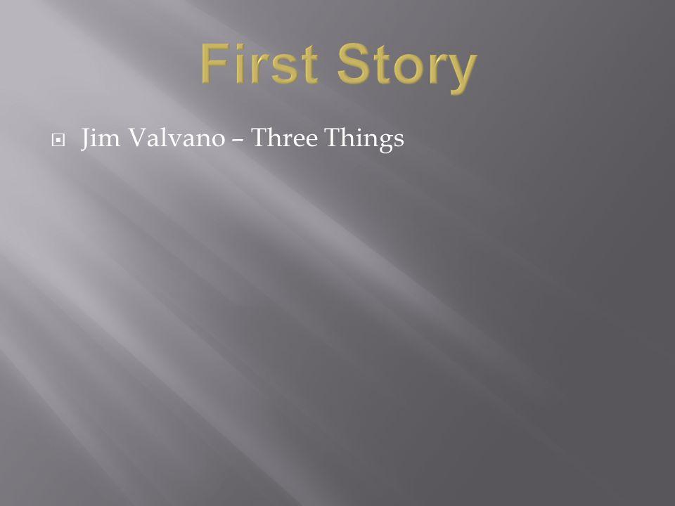  Jim Valvano – Three Things