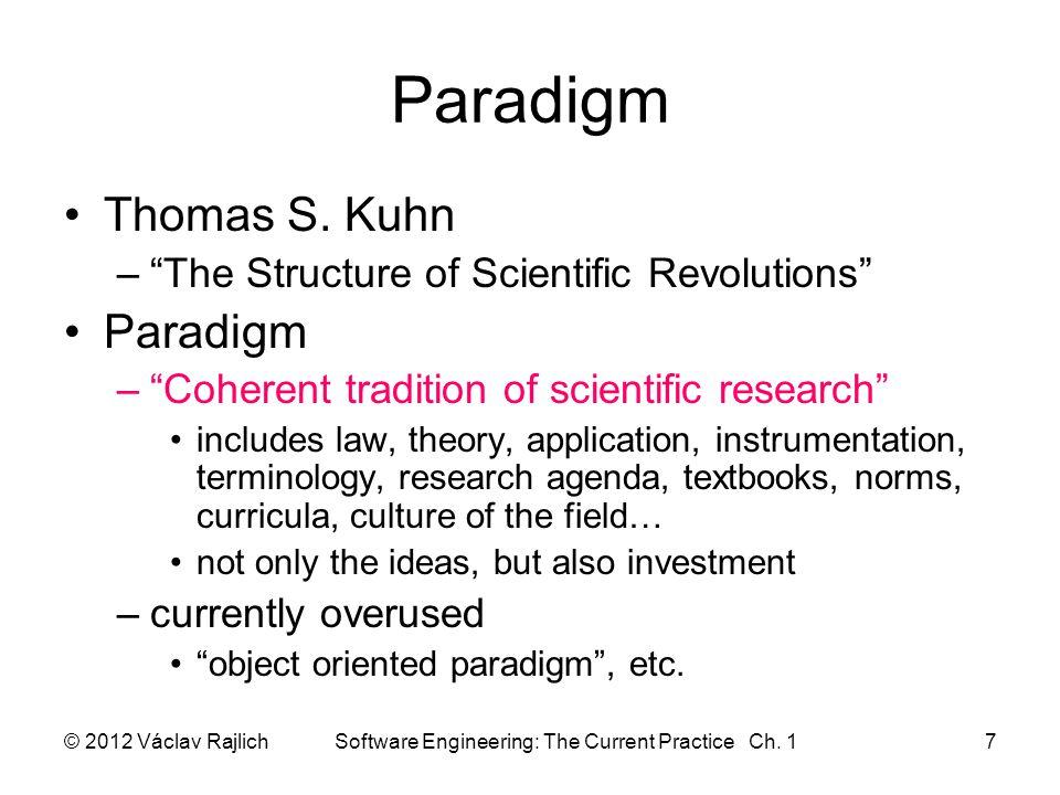 Paradigm Thomas S.