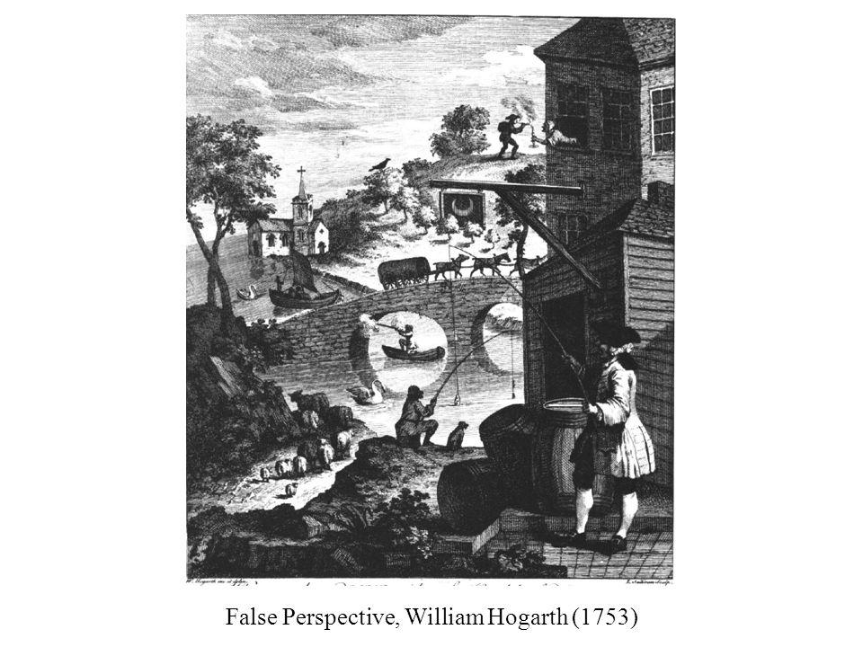 False Perspective, William Hogarth (1753)